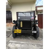 Jeep Willys Minguerra De Colección