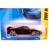 Hot Wheels Ferrari Fxx Black, White Pin Down Top Side Pr #3