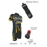 Conjunto Masculino Speed Biking Camisa+bermuda+garrafa
