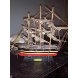 Barco Carabela Adorno Madera