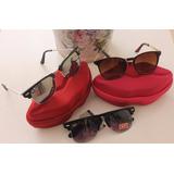 Óculos De Sol Feminino - Brinde (case boca) - Vários Modelos df0211bb87
