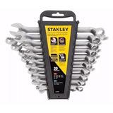 Juego 20 Llaves Combinadas Acodadas Stanley 97570