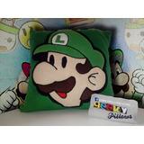 Cojin Luigi De Paper Mario