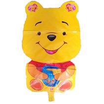 Globo 24 Pulgadas Forma De Winnie Pooh Enorme!! 10 Unidades