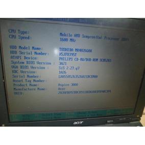 Notebook - (142) Acer Aspire 3000 - Ler Descrição