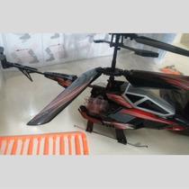 Helecoptero De Guerra Helicoptero De Controle Remoto + Frete
