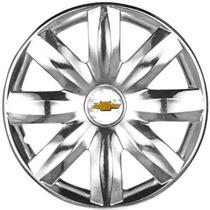 Calota Corsa Hatch Joy Cromada Gm Aro 14 Chevrolet P365mtu