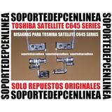 Toshiba Satellite C645 Series Bisagras Para 14 Para Laptop