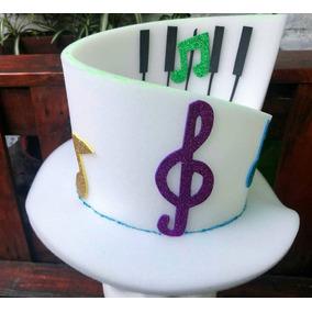 Gorro Música Piano Fiestas, Cotillón, 15 Casamientos