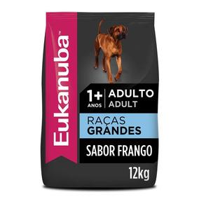 Ração Eukanuba Para Cães Adultos De Raças Grandes - 12 Kg