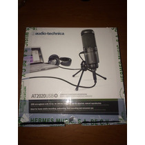 Microfono De Condensado Usb Audio-technica At2020 Seminuevo