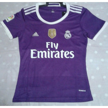 Jersey Real Madrid, Morado. Dama