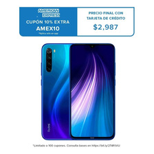 Xiaomi Redmi Note 8 32gb+3ram  Versión Global Cámara 48 Mpx