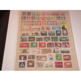 Selos Postais Antigos - Lote Com 193 Selos Da Alemanha Oc.