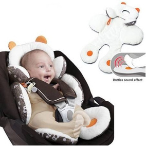 Almofada Capa Colchonete Cadeirinha Bebê Conforto Carrinho