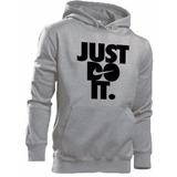 Blusa Moleton Nike Just Do It 100% Algodão Promoção