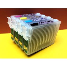 4 Cartuchos Recargables Xp201 Xp401 Full Tinta Cart.195 196