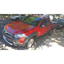 Fiat Strada Adventure Locker - 2013 - Motor 1.6 - Nafta/gnc