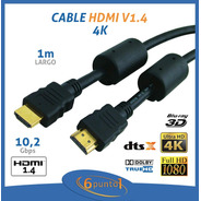 Cable Hdmi V2.0 Puresonic - 1m - 4k - 10,2gbps