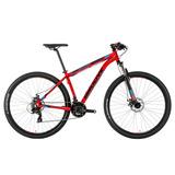 Bicicleta Mtb Groove Zouk Disc Aro 29 2018 Vermelha