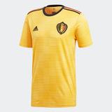 Camiseta Alternativa Selección De Bélgica 2018 Hombres