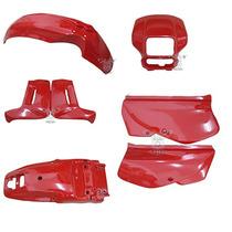 Kit Plástico Xr 200 Vermelha 2000 E 2001 Paramotos Kit