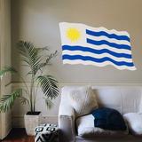 Vinilos Decorativos Banderas De Países 90x60 Consulte X País