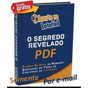 E-book Pra Ganhar Na Lotofacil Segredo Revelado.acerte 13/15