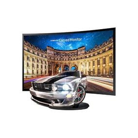 Monitor Gamer Curvo Samsung Led 27 F390 Vga Hdmi Full Hd _