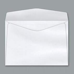 Envelope Carta Branco Sem Cep 11,4 X 16,2 Cm Cof010 1000 Uni