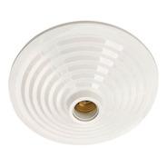 Plafon Mc Branco Pavilonis + Soquete Porcelana Em