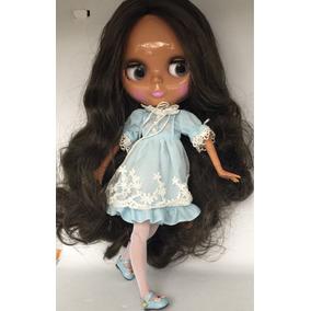 Blythe Tbl Morena Boneca Articulada Tipo. Blythe
