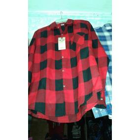 Camisa A Cuadros Rojo Con Negro