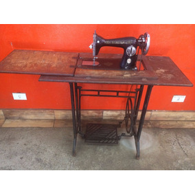 Máquina De Costura Antiga Singer - Funciona Perfeitamente