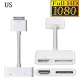 Hdmi Tv 30 Pin Av Digital Adaptador Para Apple El Nuevo Ipad