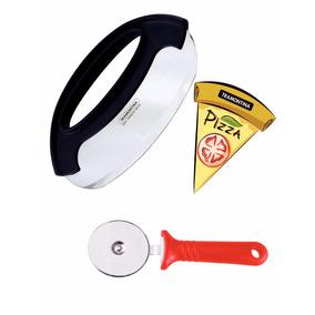 Kit Para Corte Cortador De Pizza Em Aço Inox Tramontina