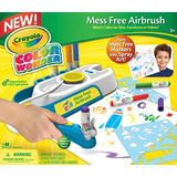 Crayola Color Wonder Mess Gratuito Aerógrafo