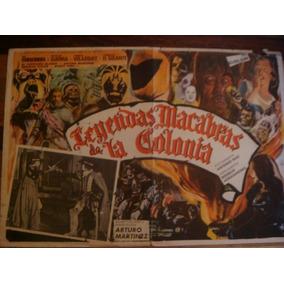 Cartel De Cine Antiguo Y Original Mil Mascaras Lucha Libre