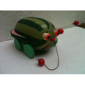 Brinquedo Antigo Trol Melancia Joaninha Anos 60/70