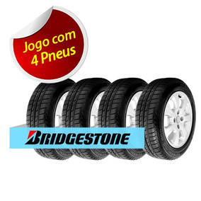 Kit 4 Pneu Aro 14 Bridgestone 175/70r14 Seiberling 500 84s