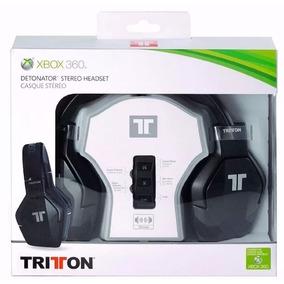 Fone Headset Stereo Tritton X360 Detonator Com Fio