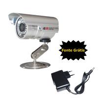 Camera Segurança Infra Ccd 1/3 1800 Linhas Digital Protecseg