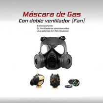 Mascara Gas Tactico Militar Gotcha Paintball Airsoft Party