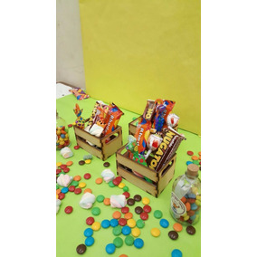 Cajones Verdulero Cajon Verdura Souvenirs Candy Bar 14x11x9