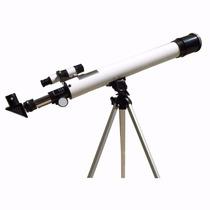 Luneta Telescópio Astronômico Terrestre Com Tripé Promoção!