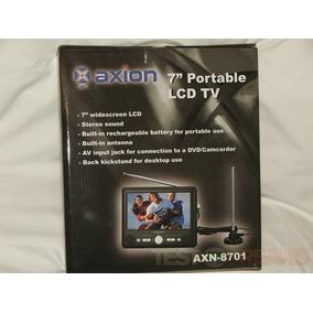 Tv Portatil 7 Pulgadas Axion