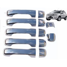 Cubre Manijas Ford Eco Sport X5 Cromado Acero Inox Tunning