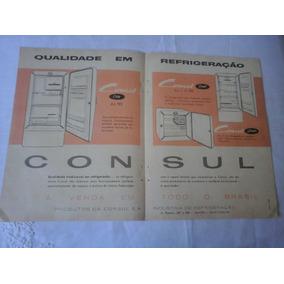Propaganda Antiga Geladeiras Consul