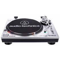 Toca Discos Audio Technica At-lp120 Prata Ou Preto(technics)