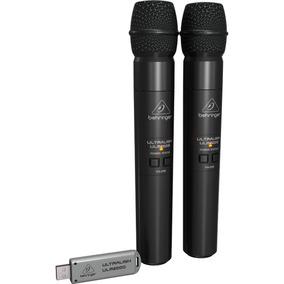 Microfono Behringer Inalambrico Doble Mano P/mezcladora, Ulm